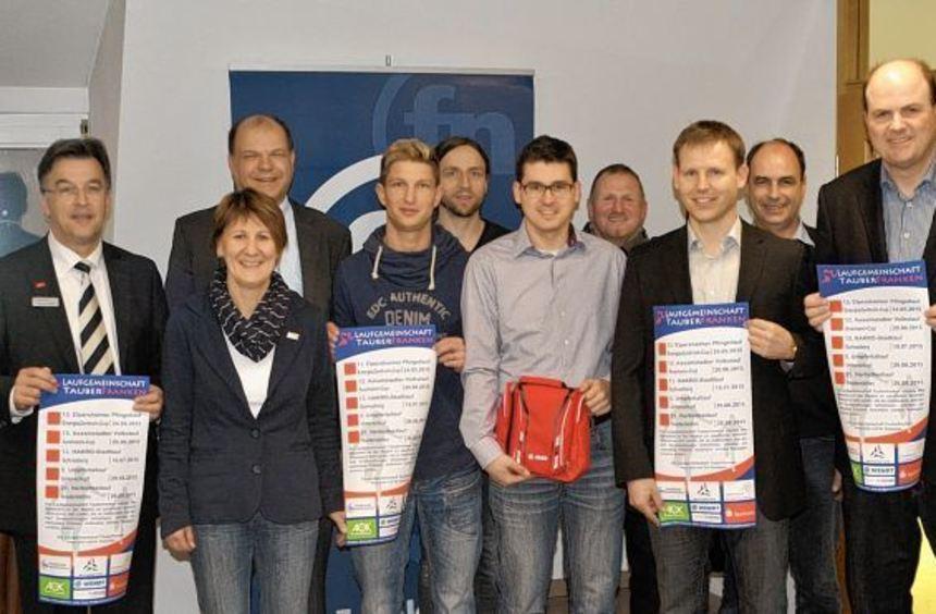 Zum vierten Mal verbindet die Laufgemeinschaft Tauberfranken die fünf Volksläufe in Elpersheim, ...