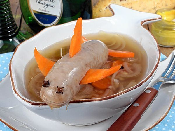 Wenn die Bratwurst ein Tintenfisch wird - Fränkische Nachrichten - Fnweb
