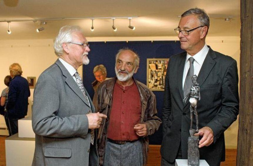 """Eröffnet wurde im Wertheimer Grafschaftsmuseum die Ausstellung """"Künstlerin zwischen den Welten"""". ..."""