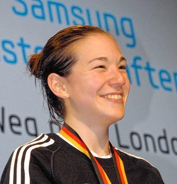 Hat gut lachen: <b>Beate Christmann</b> gewann das Internationale <b>...</b> - image