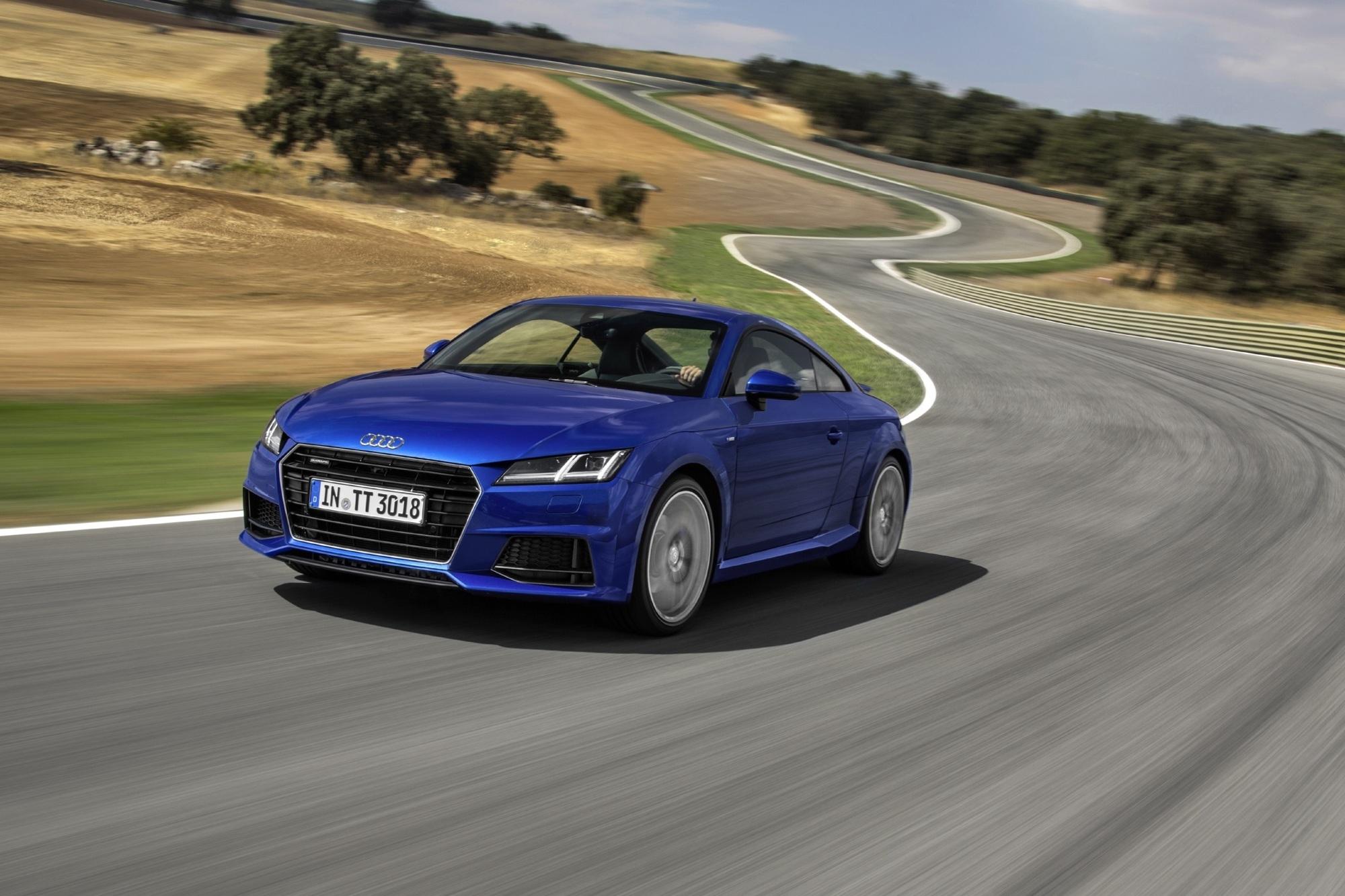 Test: Audi TT Coupé - Schickes Schnuckelchen mit Showtalent