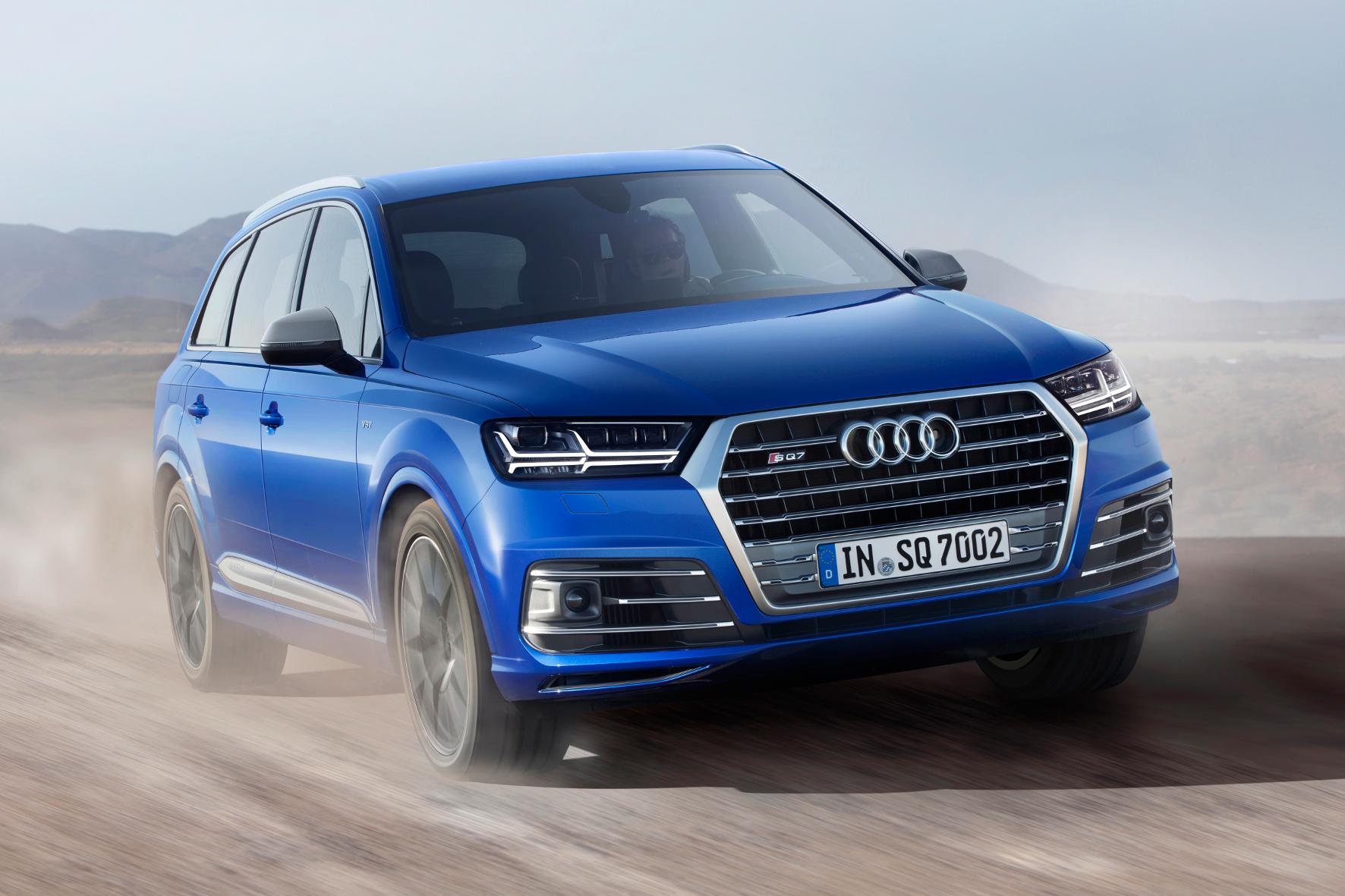 mid Mühlhausen - Der wirbelt mächtig Staub auf: Audi legt mit dem SQ7 die Messlatte für sportliche SUV mit Dieselmotor eine Stufe höher.