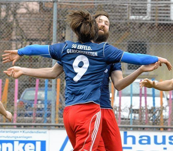 So herzerfrischend wollen sich die Spieler der SG Erfeld/Gerichtstetten am Sonntag über die Meisterschaft in der Kreisliga Buchen und die damit verbundene Rückkehr in die Landesliga Odenwald freuen.
