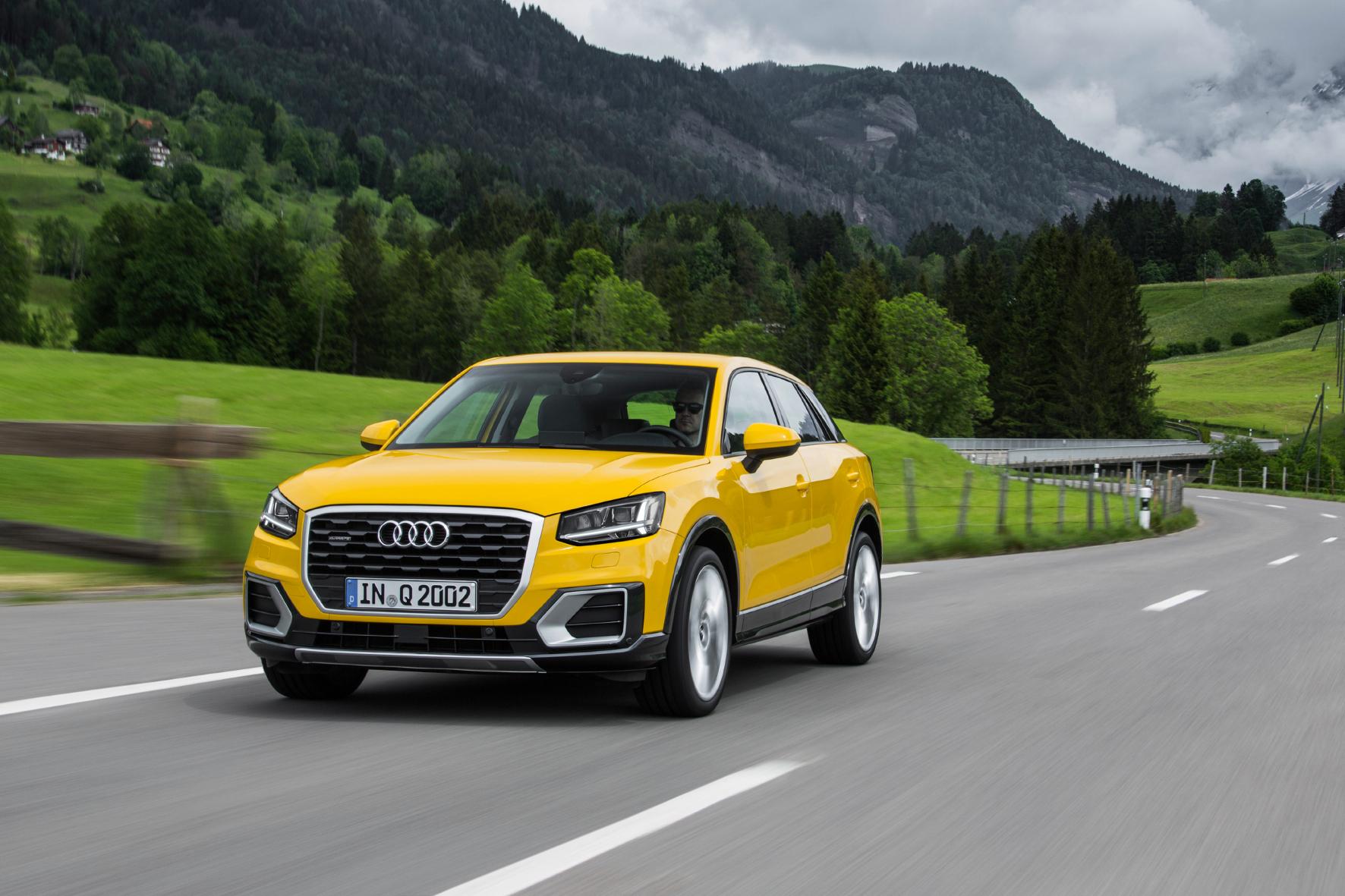 mid Zürich - Der Audi Q2 hat einen eigenständigen optischen Auftritt. Er wirkt definitiv nicht wie ein geschrumpfter Q3.