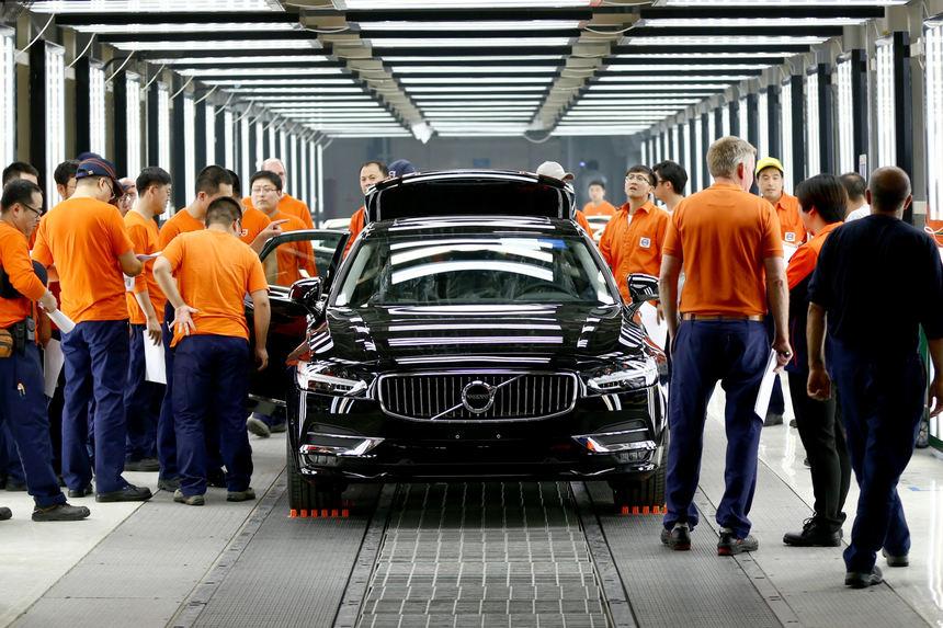 Auto Mit Eingebautem Kühlschrank : China s finest volvos aus dem reich der mitte auto fnweb