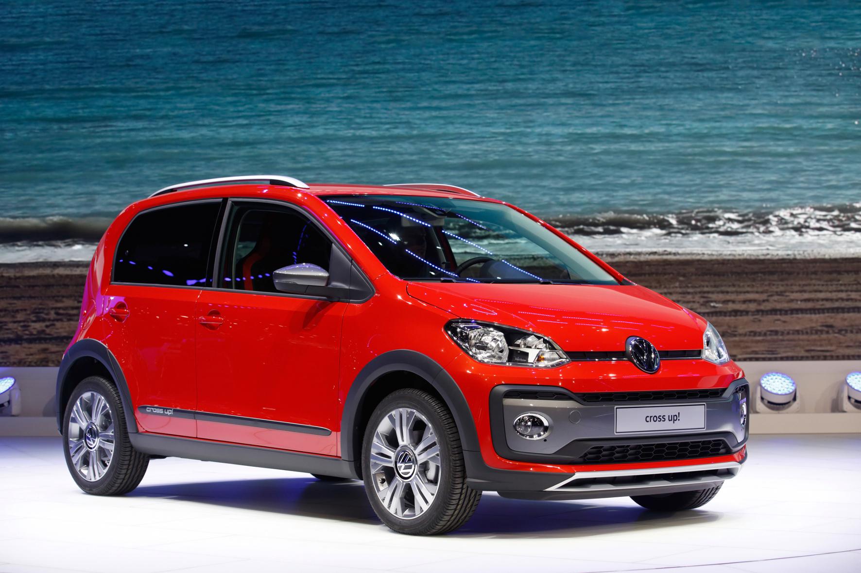 mid Groß-Gerau - Nicht nur für Großstadt-Indianer: der neue VW Cross Up im Offroad-Look.