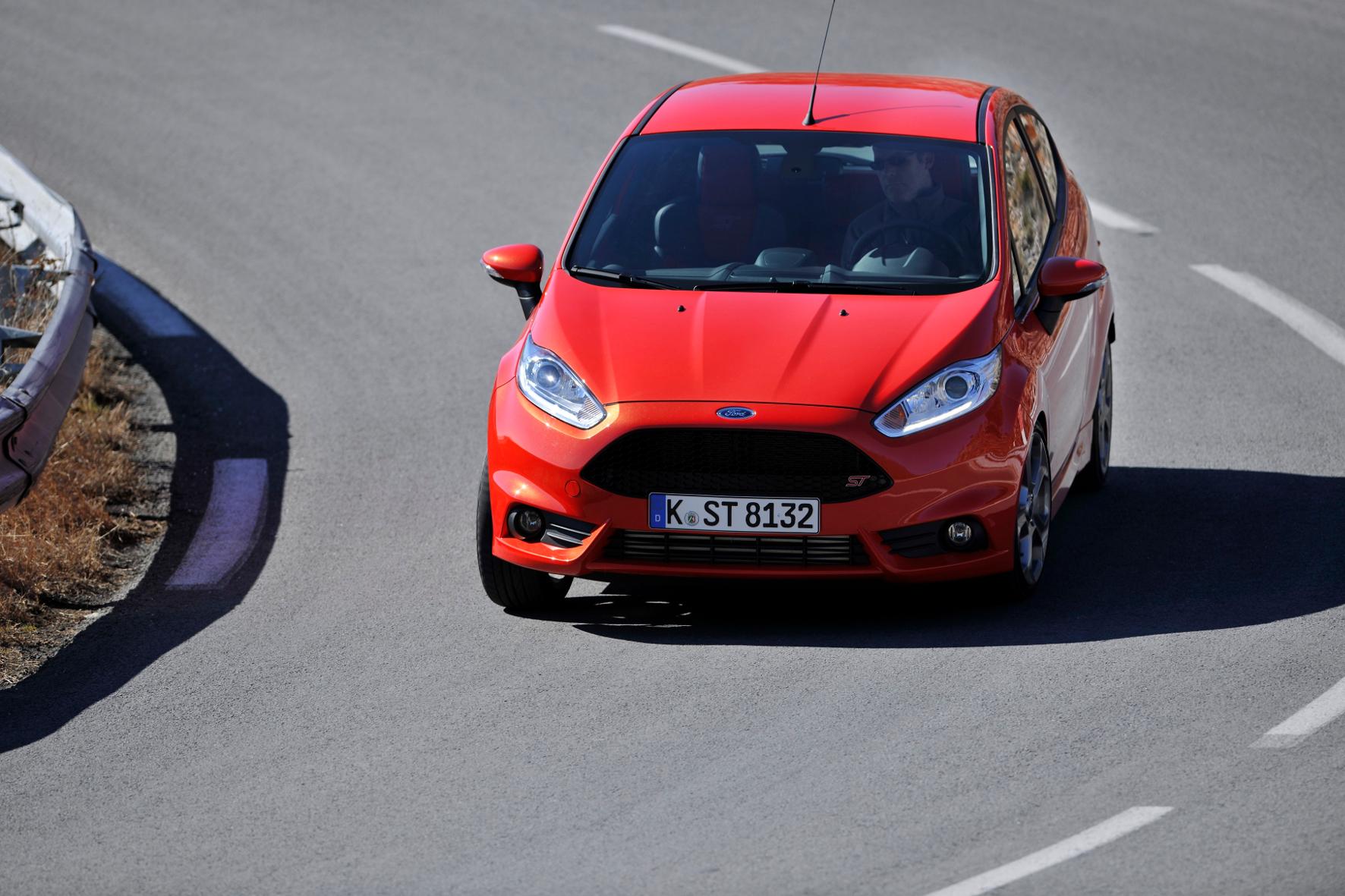 mid Groß-Gerau - Upgrade für den Fahrspaß-Fiesta: Die Sportvariante ST des Kleinwagens von Ford gibt es künftig auch als Fünftürer.
