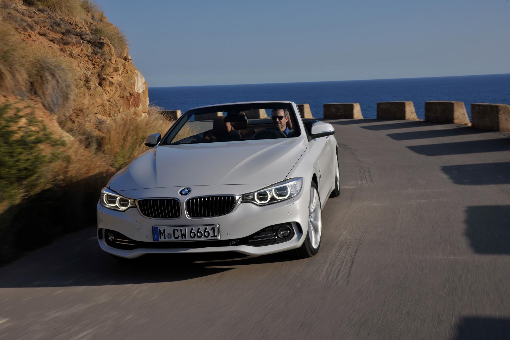 mid Groß-Gerau - Das 4er-Cabrio von BMW ist auch mit Dieselantrieb schnell unterwegs und vermittelt Freude am Fahren.