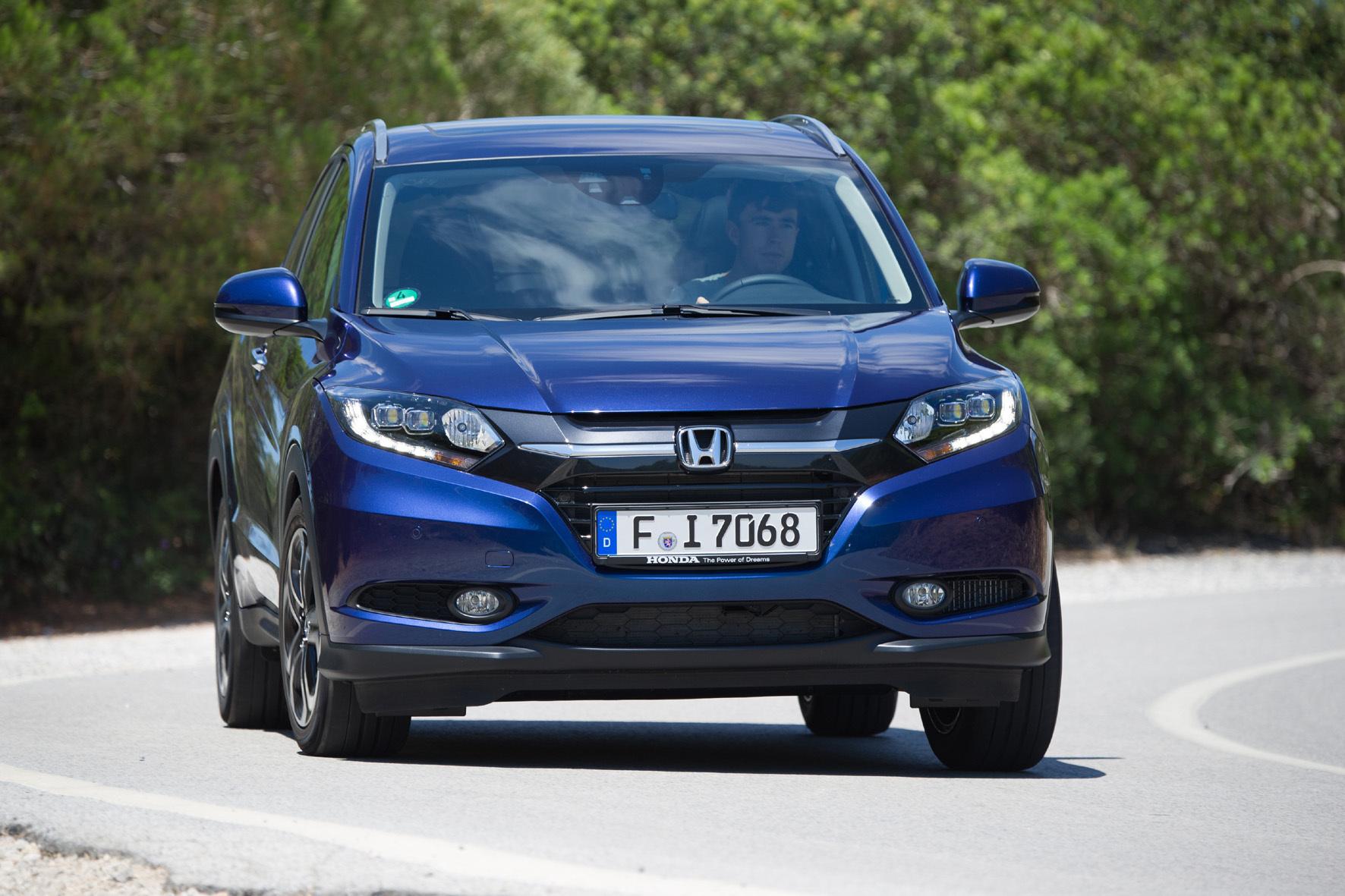 mid Groß-Gerau - Die Frontgestaltung des Honda HR-V vermittelt einen typischen SUV-Charakter.