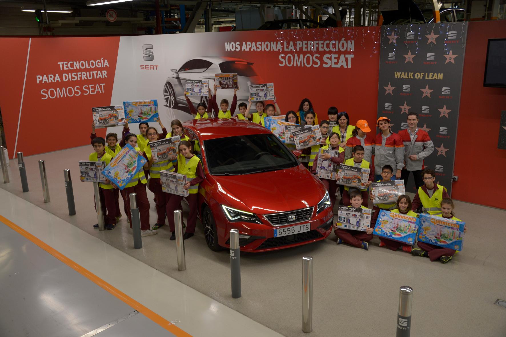 mid Groß-Gerau - Im Seat-Werk im spanischen Martorell hat der Konzern einigen Schulkindern eine besondere Freude gemacht.