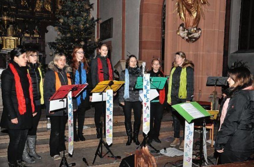 """Die Gruppe """"Lebensfarben"""" gab zwei Konzerte zugunsten des Vereins """"Hilfe im Kampf gegen den Krebs""""."""