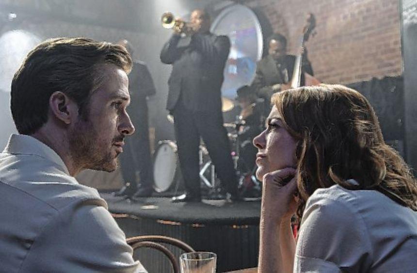 """Schau mir in die Augen, Kleines: Ryan Gosling und Emma Stone verlieben sich in """"La La Land"""" vor der ..."""