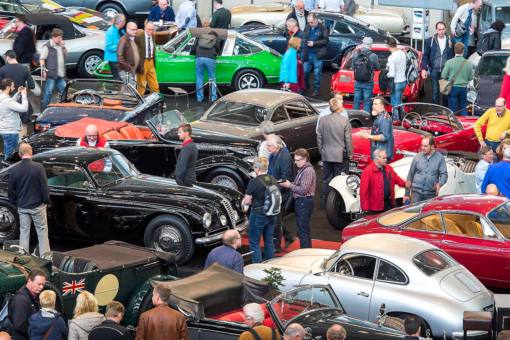 mid Groß-Gerau - Mit 200.000 Besuchern und mehr als 1.250 Ausstellern war die Techno Classica Essen 2016 die wichtigste Oldtimer-Messe der Welt. Das soll auch 2017 wieder so sein.