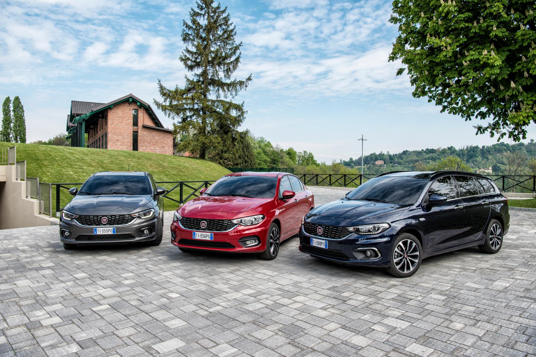 mid Groß-Gerau - Kompakt-Trio zum Sparpreis: Den Fiat Tipo gibt es bis Ende Januar 2016 bei einer Finanzierung ab 10.990 Euro inklusive Eintausch-Prämie.