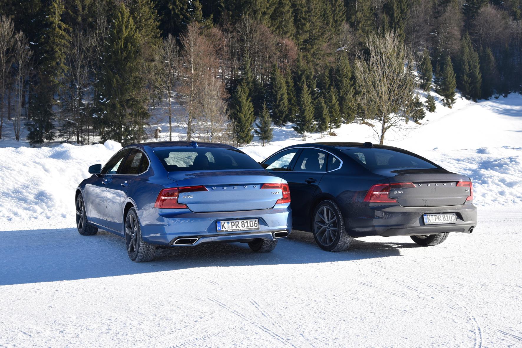 mid Salzburg - Sportsgeist oder Vernunft: Diese Gretchenfrage stellt der mid beim großen Schweden S90 und Vergleicht das Topmodell T6 mit der Basisvariante D3.