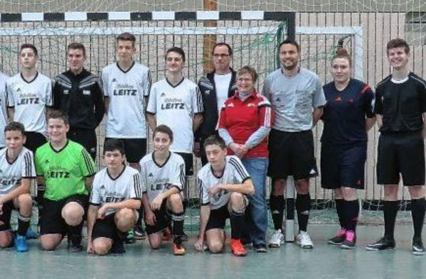 Die B-Junioren des SV Osterburken (Bild links) und die C-Junioren der SG Mudau vertreten den ...