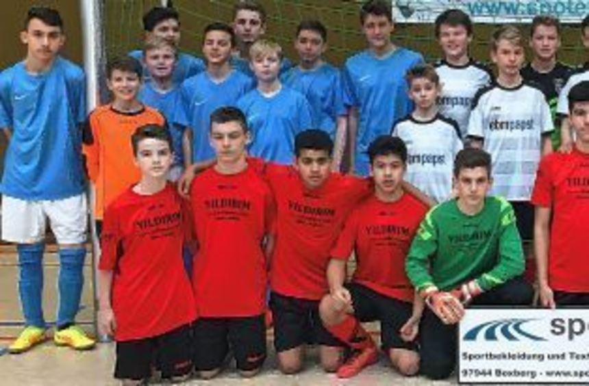 Diese vier Mannschaften erreichten beim C-Junioren-Turnier in Creglingen das Halbfinale: ...