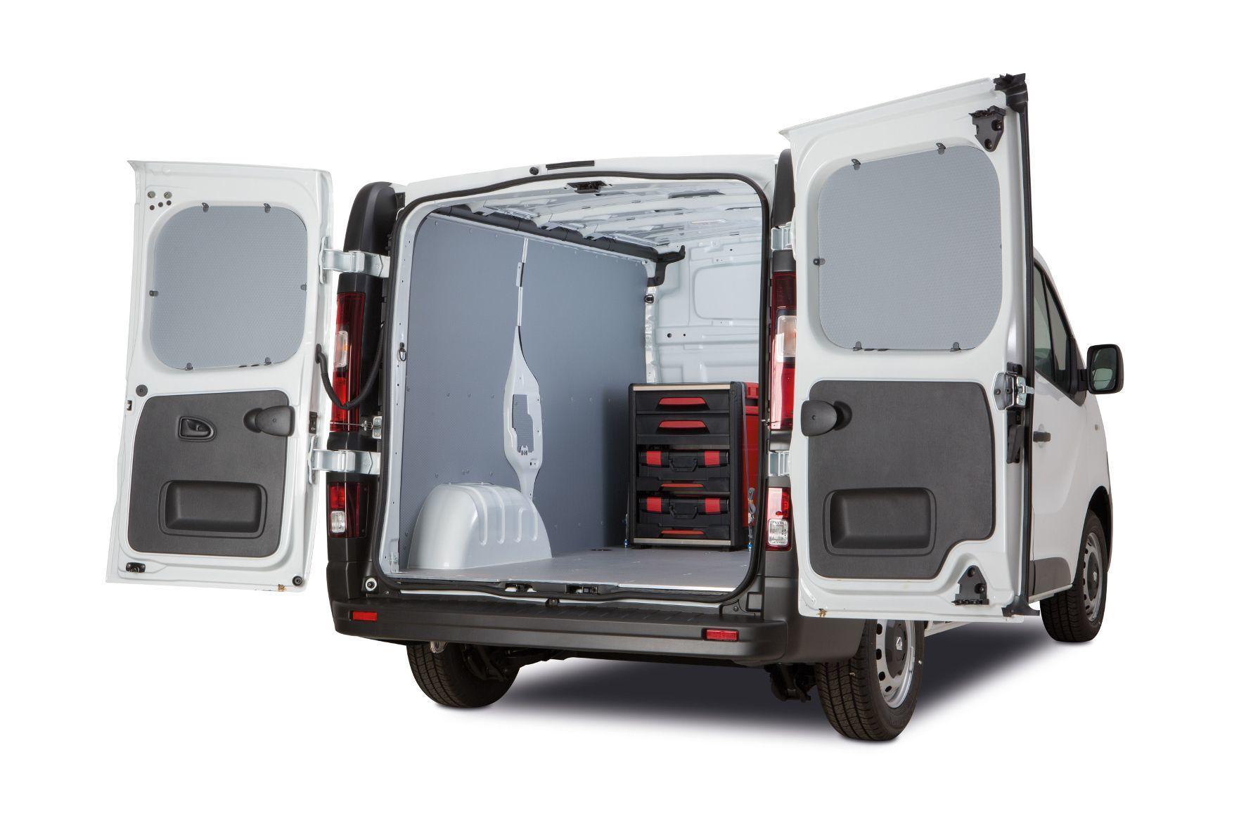 """mid Groß-Gerau - Als """"engelbert strauss Edition"""" bietet Renault die Nutzfahrzeuge Kangoo Rapid, Trafic und Master mit einem speziell für die Bedürfnisse von Handwerkern und Servicetechnikern ausgelegten Innenausbau an."""