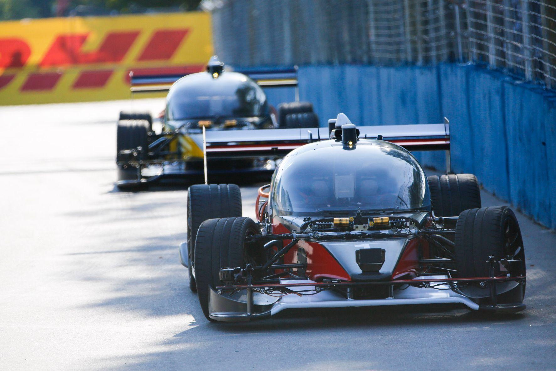 mid Groß-Gerau - Die Zukunft beginnt jetzt: In Argentinien fuhren im Rahmen der Formula E autonome Rennwagen auf der Strecke.