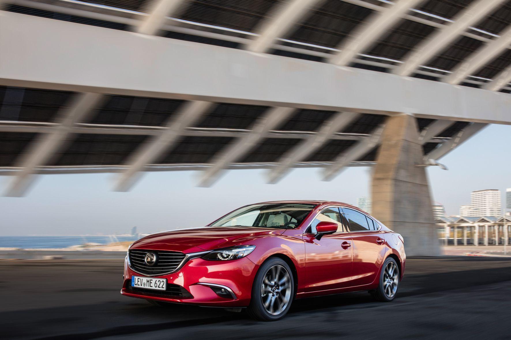 mid Groß-Gerau - Die Auffrischung im vergangenen Jahr mit leichten Korrekturen an der Außenhaut und neuen Technik-Features hat dem Mazda6 gut getan.