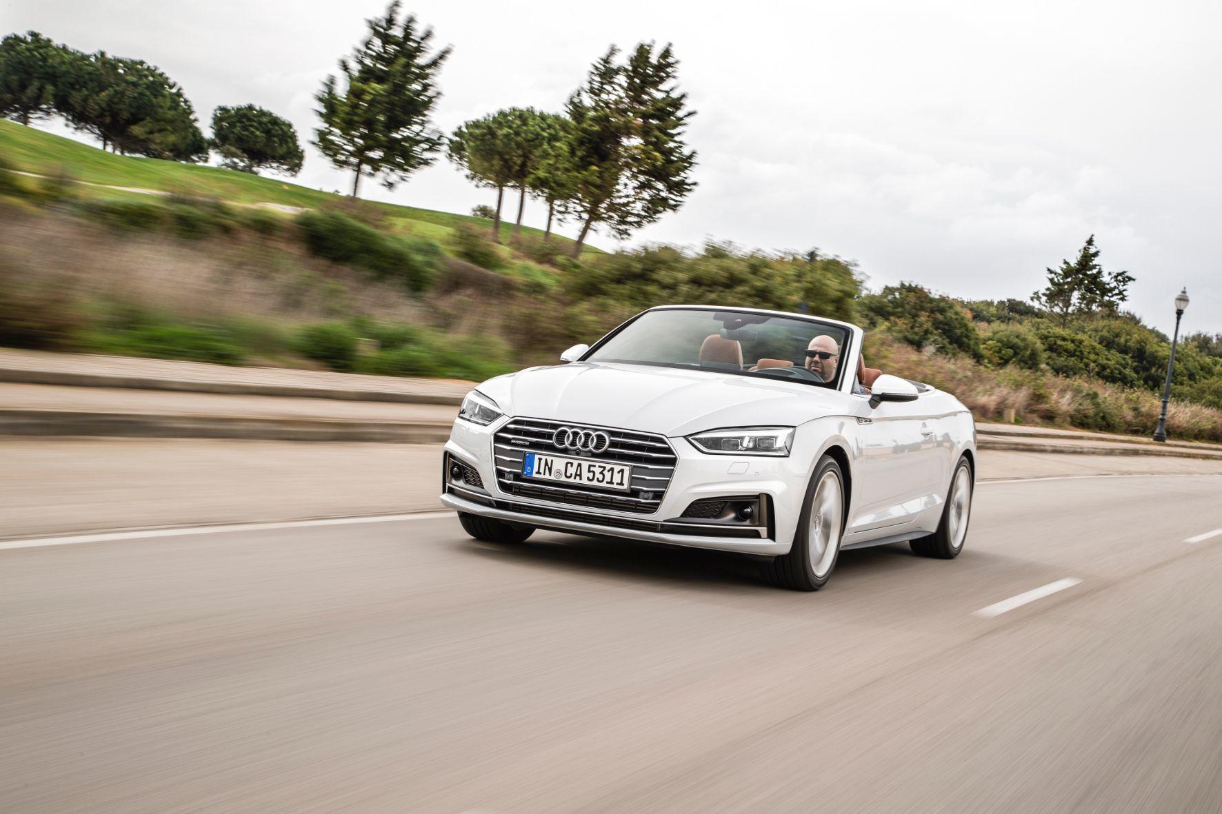 mid Cádiz - Audi eröffnet die Cabrio-Saison mit der Vorstellung des offenen A5.