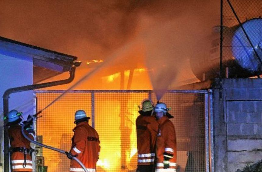 Bei einem Brand im Anbau des Sportheims Zimmern entstand ein Sachschaden in Höhe von 50 000 Euro. ...