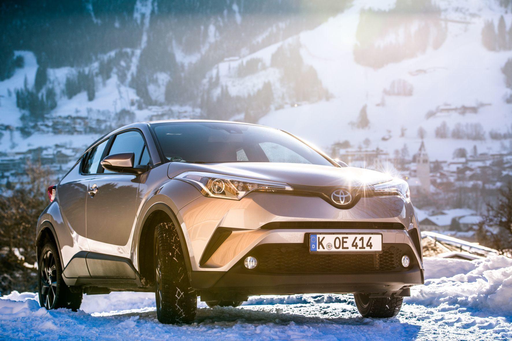 mid Kitzbühel - Neuer Sunnyboy von Toyota: Das Design des C-HR polarisiert mit Erfolg.