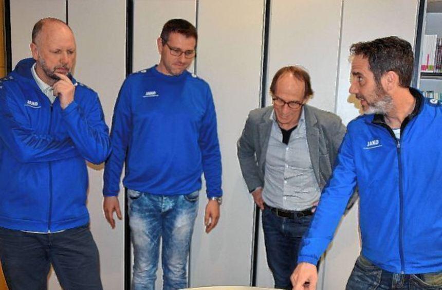 Erstmals erhielt die Leitung der Jugend des FV Lauda die Anerkennung als Einsatzstelle für ein ...