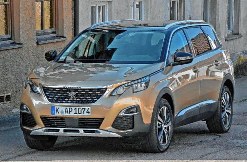 Peugeot bietet sein Modell 5008 nicht mehr als Familienvan an, sondern hat ihn zum schicken Sport ...