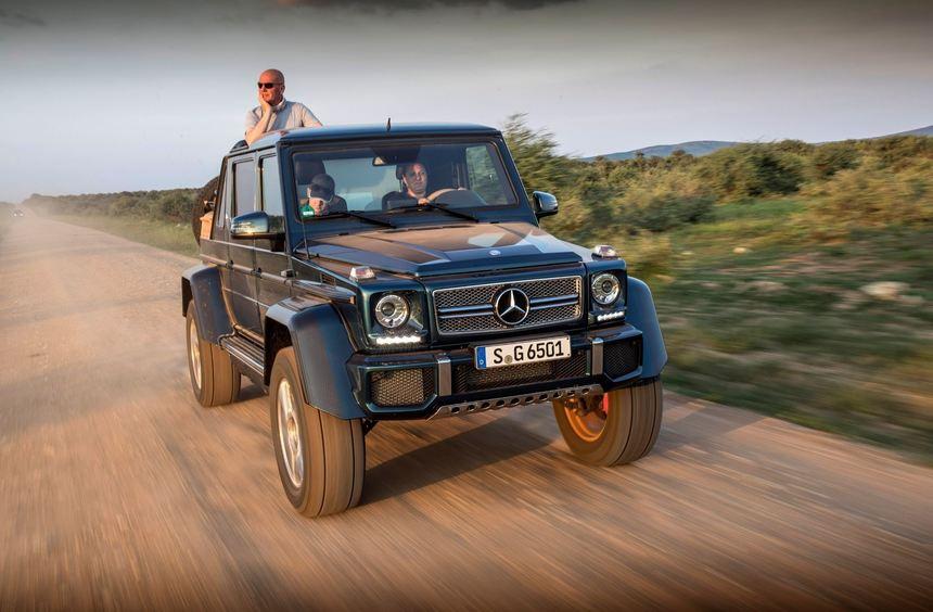 mid Madikwe - Auf die Spitze getrieben: Der Mercedes-Maybach G650 Landaulet vereint höchste ...
