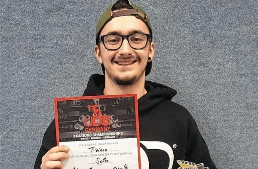 """Bei den """"UDO 3 Nations Championships"""" holte sich Tiziano Damigella den ersten Platz."""