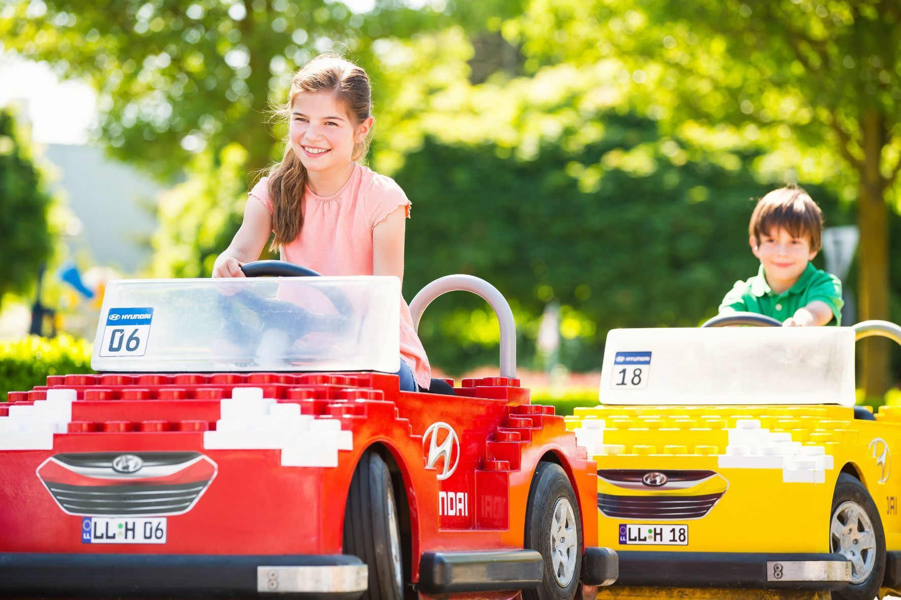 mid Groß-Gerau - Früh übt sich, was ein sicherer Autofahrer werden will. Im Legoland lernen die Kleinen auf spielerische Weise den Umgang mit der Mobilität.