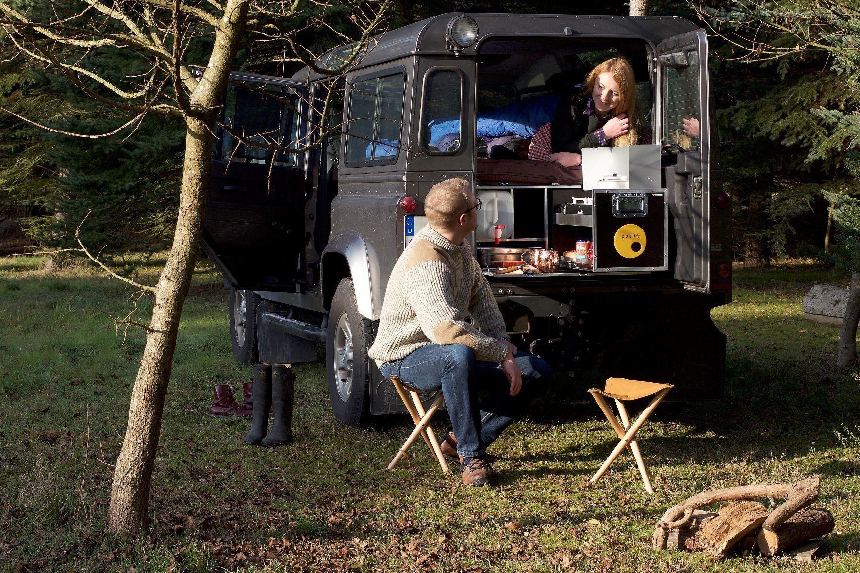mid Groß-Gerau - Der Geländewagen als Teilzeit-Camper? Mit den Camping-Boxen von Ququq ist das kein Problem.