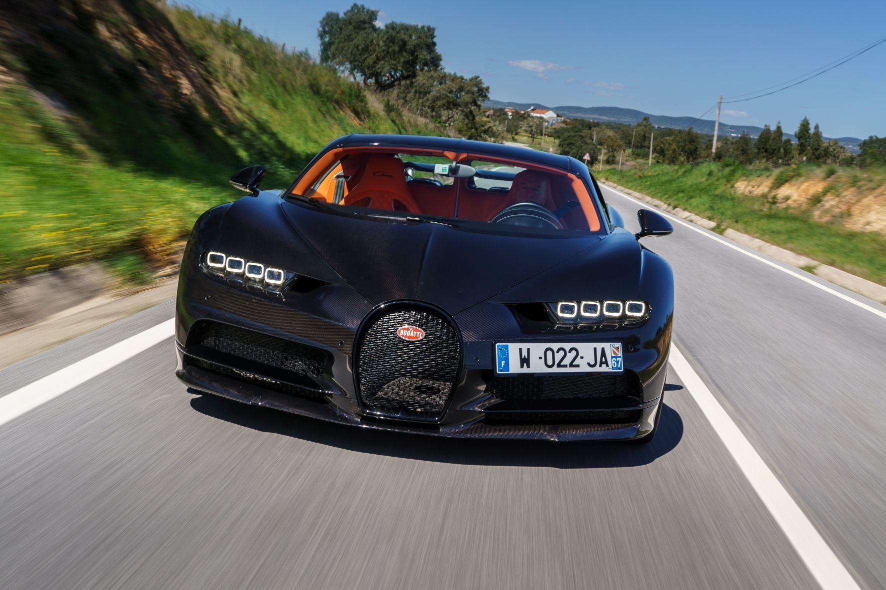 mid Lissabon - Die ultima Ratio im Automobilbau: der Bugatti Chiron.