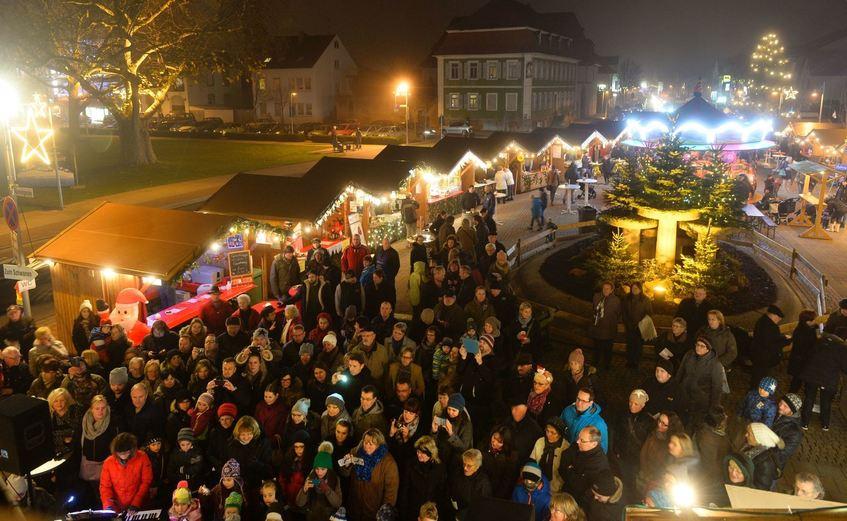 Weihnachtsmarkt Morgen.Weihnachtsmarkt In Lampertheim Eröffnet Südhessen Morgen
