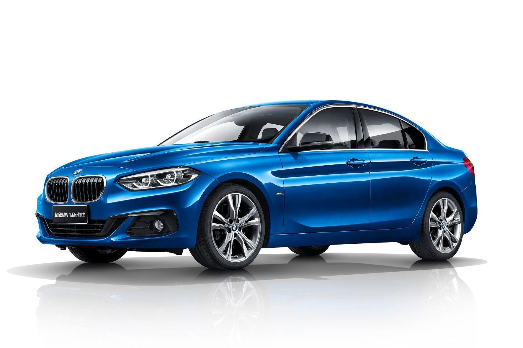 mid Groß-Gerau - Sportlich und elegant, aber nicht für Deutschland bestimmt: der BMW 1er als Limousine.