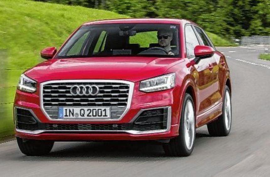 Ein richtiger Hingucker ist der Audi Q2 geworden. Das Modell soll vor allem junge Leute ansprechen.