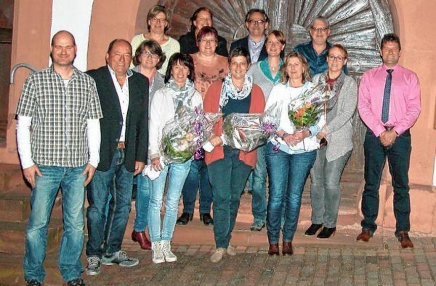 Die Chorgemeinschaft aus Sindolsheim verabschiedete und ehrte mehrere Mitglieder.