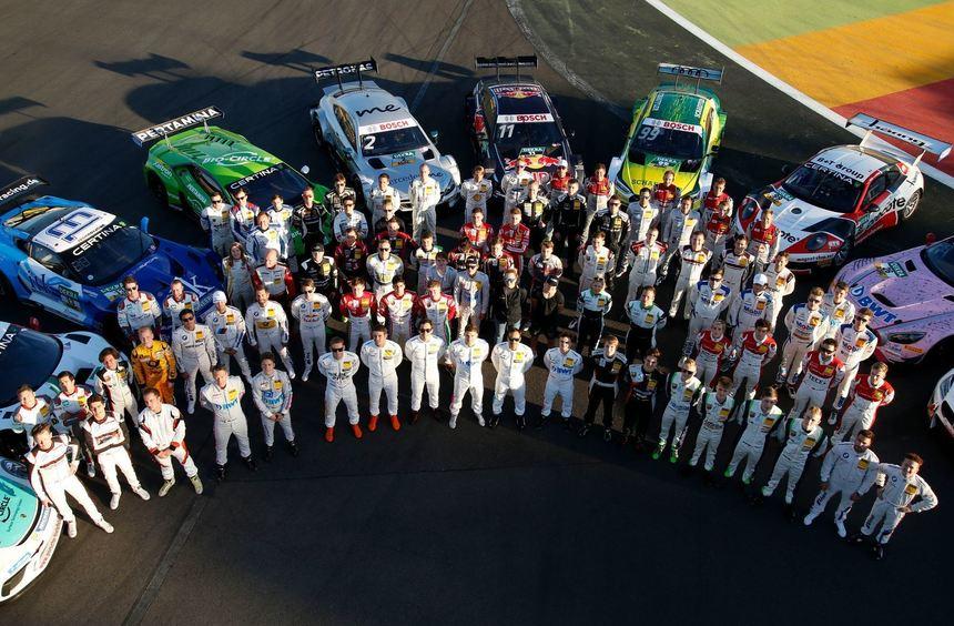 mid Groß-Gerau - BU: Die Ruhe vor dem Sturm: Die Rennfahrer von Audi, BMW und Mercedes freuen sich ...
