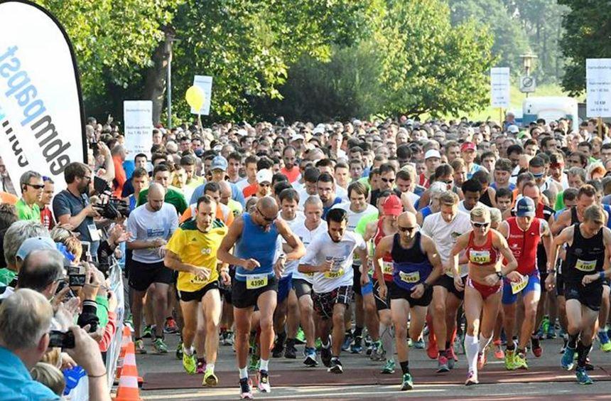 """Der Startschuss zum """"ebm-papst-Marathon"""" fällt in diesem Jahr am Sonntag, 10. September, um 8.30 ..."""