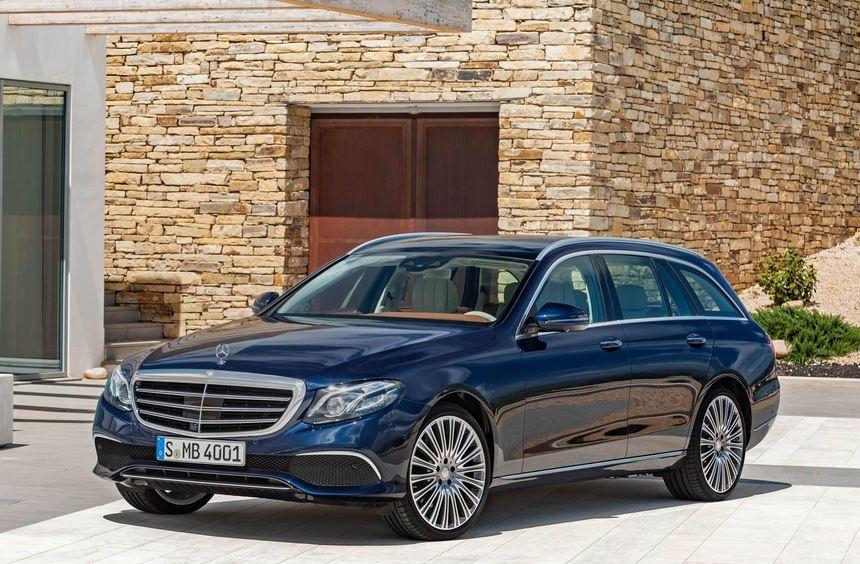 Luxusliner mit Fahrspaß-Garantie: Das T-Modell der Mercedes-Benz E-Klasse.