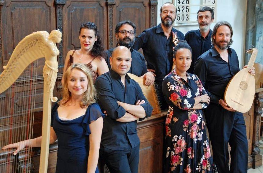 """Das Ensemble """"I Vastasi"""" spielte """"Alte Musik"""" in der Schlosskirche."""