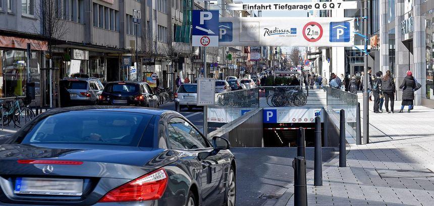 Parken Mannheim Kostenlos