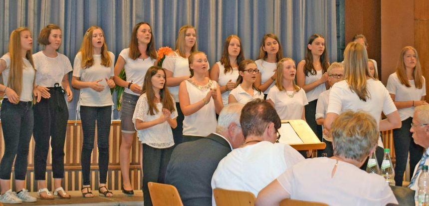 Zahlreiche Musikfreunde erlebten am Freitagabend mit dem zweiten Chorkonzert unter dem Motto ...