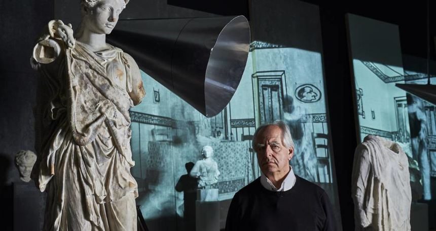 William Kentridge bringt Medienkunst ins Frankfurter Liebieghaus.