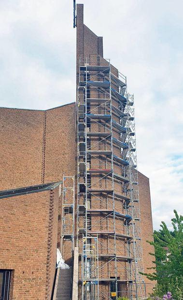 Für 300 000 Euro unterzieht sich die Kirche St. Kilian in Assamstadt einer umfassenden ...