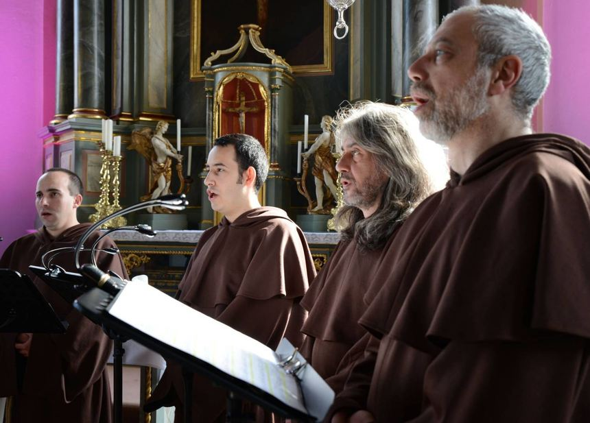 "Mit ihrem Programm ""Gregorianic meets Pop"" ist das Ensemble ""The Gregorian Voices"" am 21. November ..."