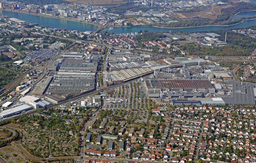 Werk Mannheim Daimler