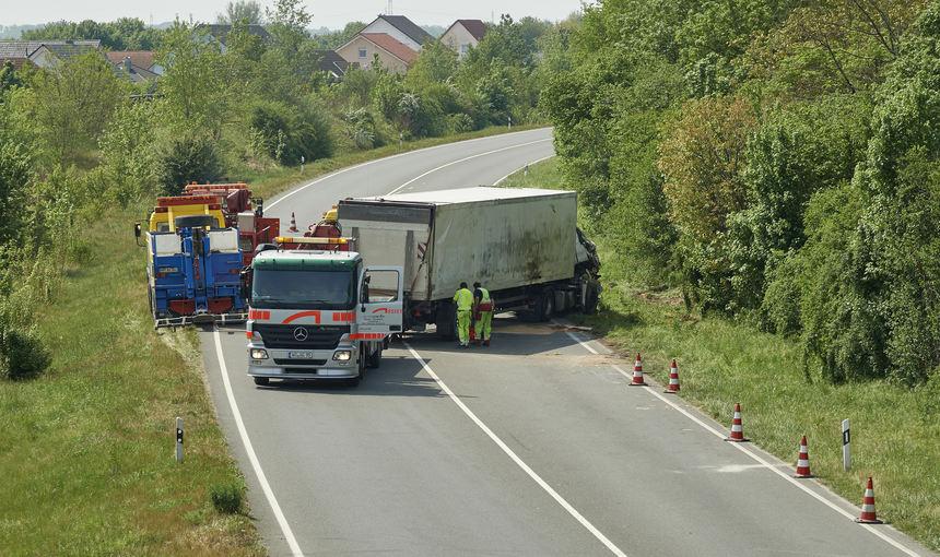 Unfall B47 Bürstadt Heute