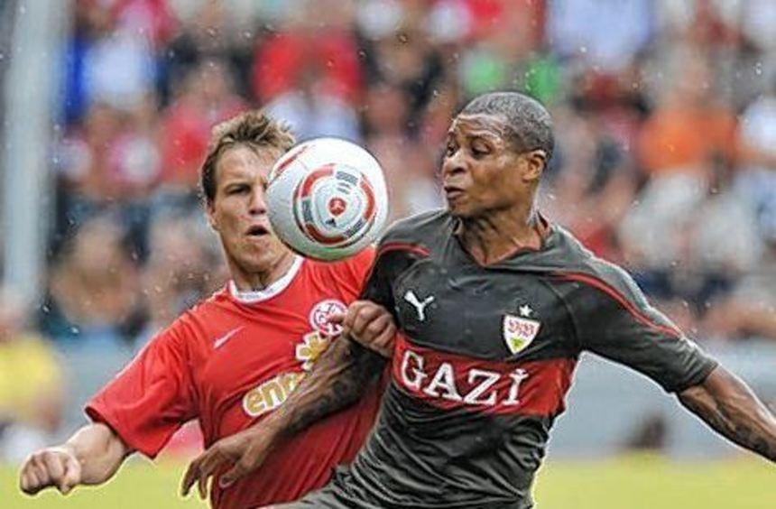 Johan Audel (linkes Bild) kam bereits 2010 zum VfB, stand aber nur drei Mal auf dem Feld. Auch Leon ...